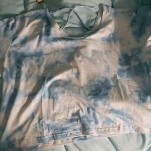 Tie Dye Criss Cross Shirt